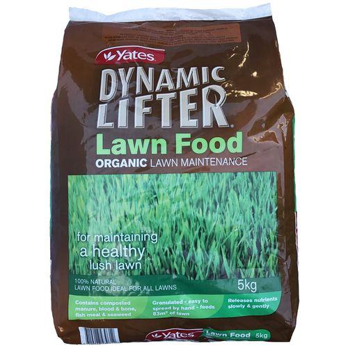 Yates 5kg Dynamic Lifter Organic Lawn Fertiliser