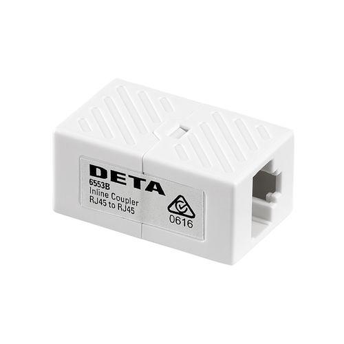 Deta RJ45 8P8C Ethernet Inline Coupler / Joiner