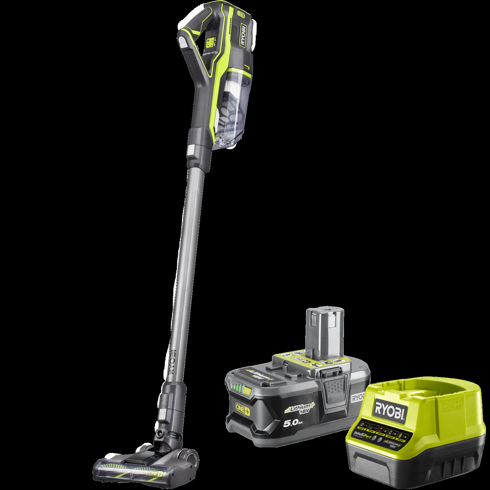 Ryobi One+ 18V 5.0Ah Brushless Stick Vacuum Kit