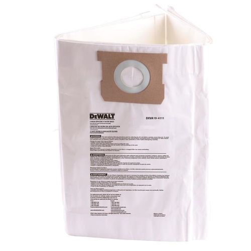 Dewalt Dust Bag 22-38L - 3 Pack
