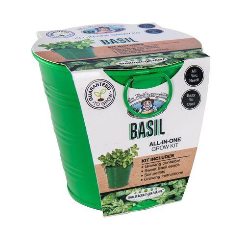 Mr Fothergill's Basil Grow Kit Tin