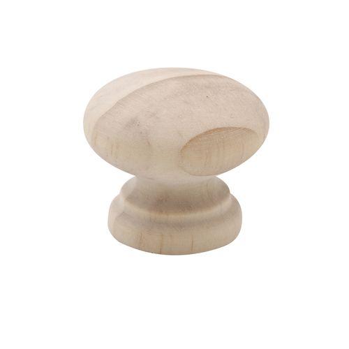 Prestige 35mm P20 Raw Pine Mushroom Knob
