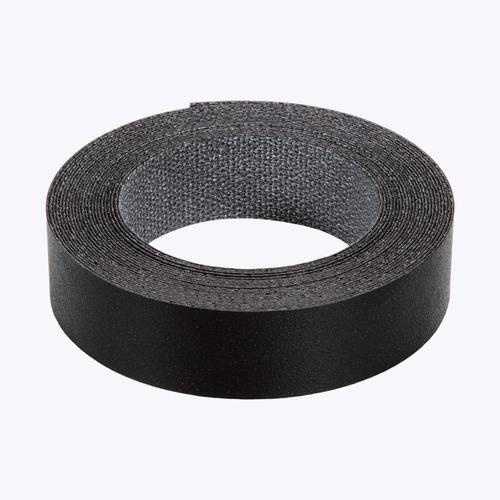 inBuilt 21mm x 5m Black Texture Melamine Colourboard Edging