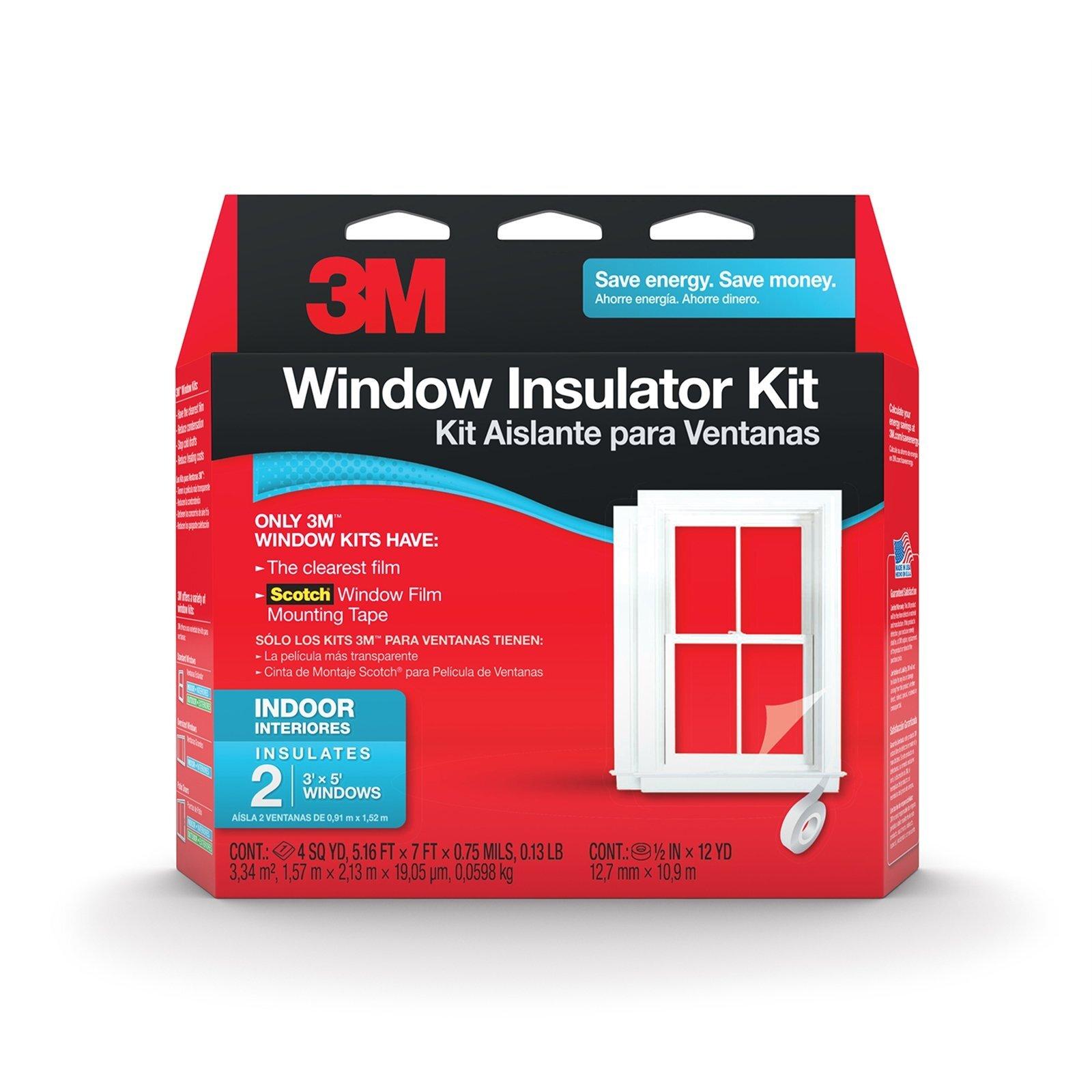 3M Window Insulator Kit - 2 Windows