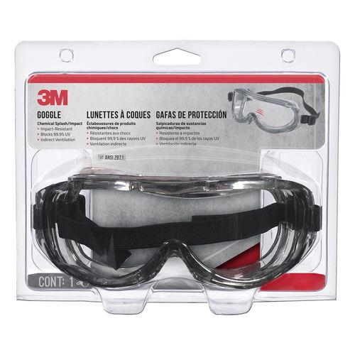 3M™ Professional Chemical Splash / Impact Goggles