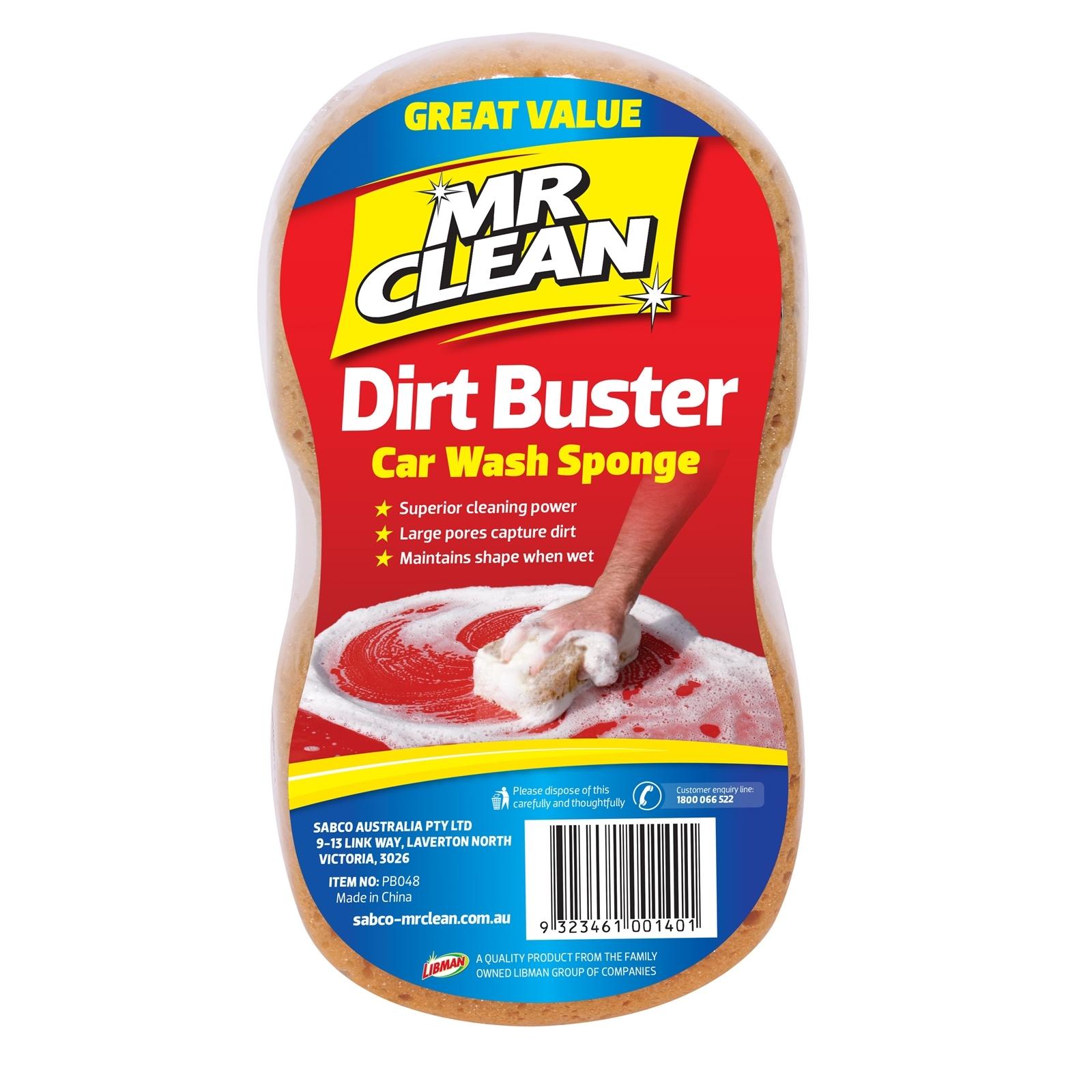Mr Clean Dirt Buster Car Wash Sponge