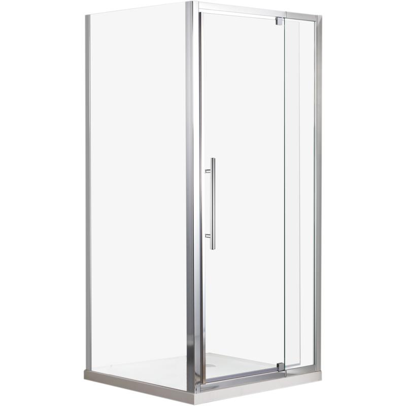 Rococo 800 x 840 x 2000mm Shower Screen