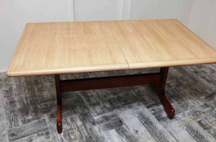 The completed and restored table