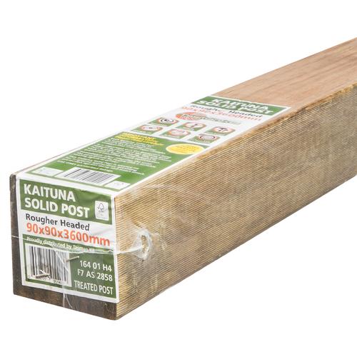 Tasman KB 90mm x 90mm x 3.6m Premium Wrapped F7 KD H4 RH Treated Pine