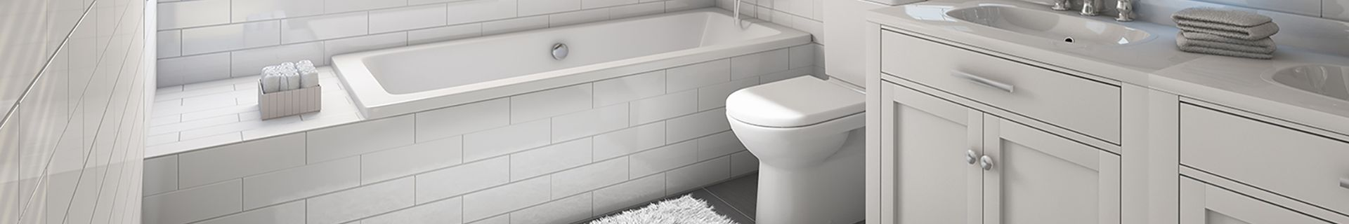 Bathroom with bath, toilet and sink