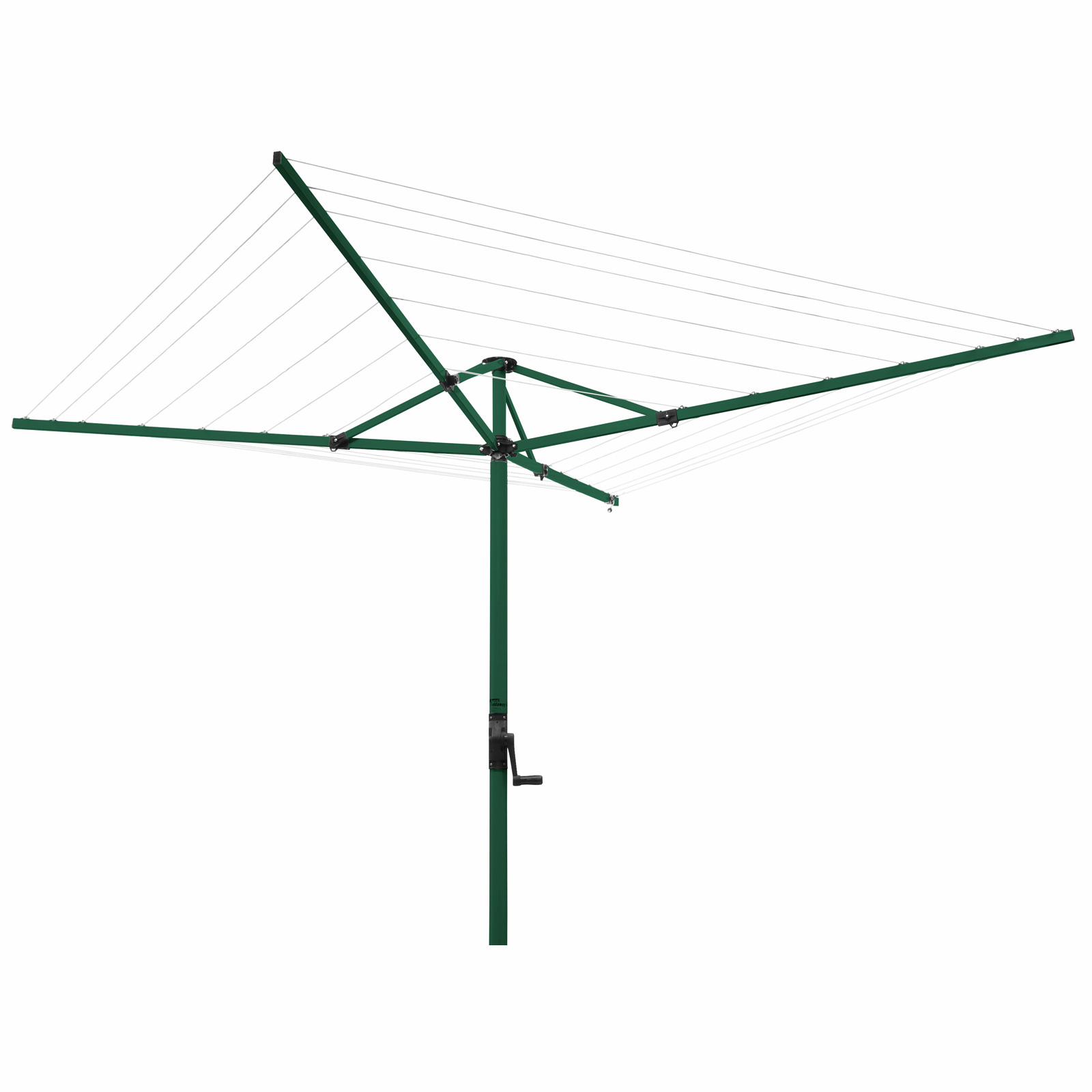 Austral Cottage Green FoldAway 51 Rotary Clothesline