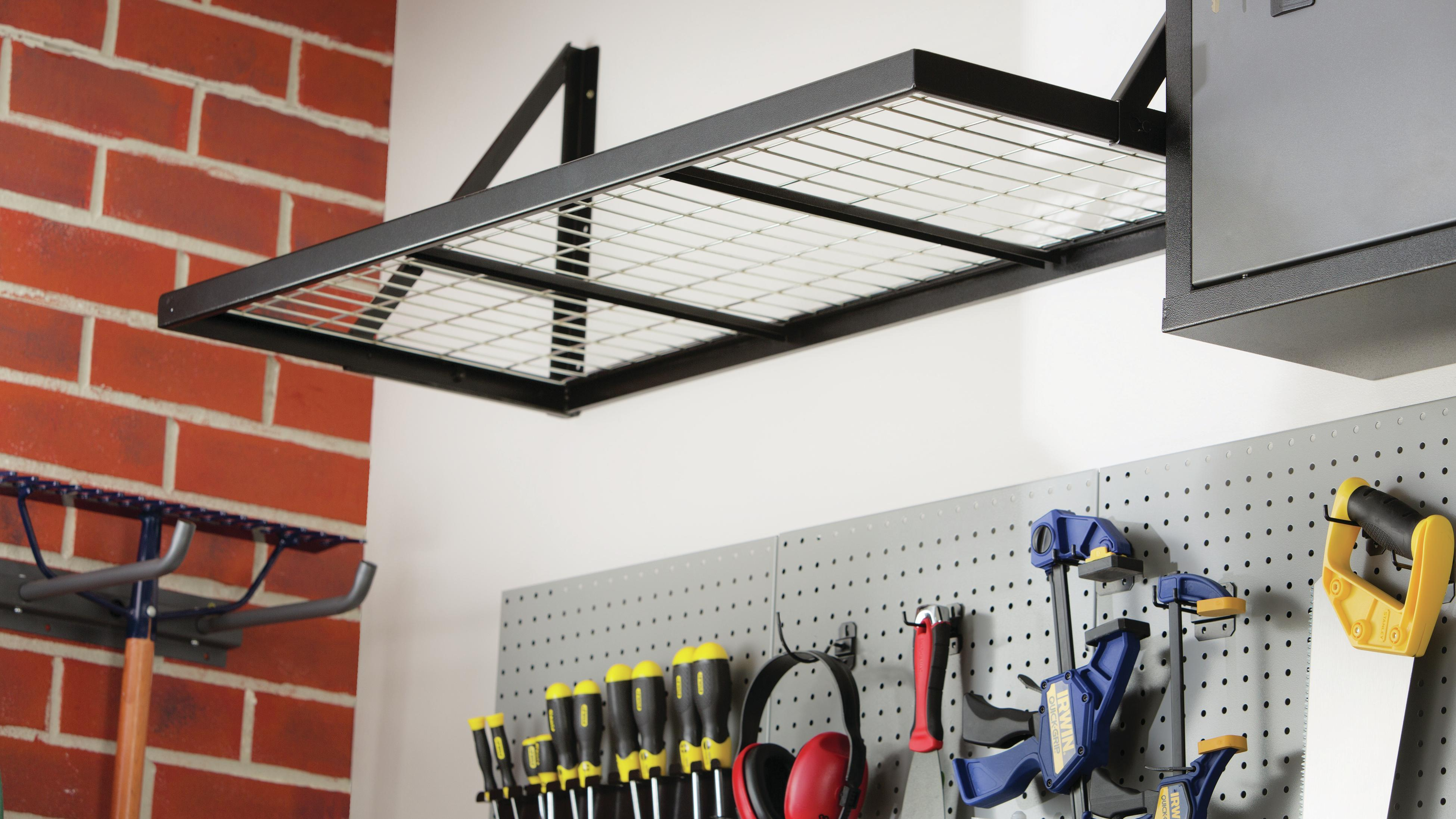 Garage shelf.