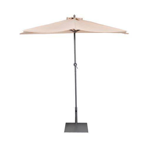 Hartman Natural Half Round Umbrella