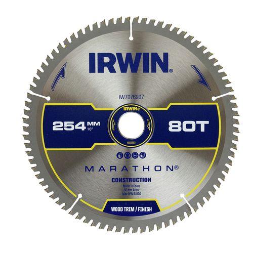Irwin 254mm 80T Marathon Mitre Saw Blade