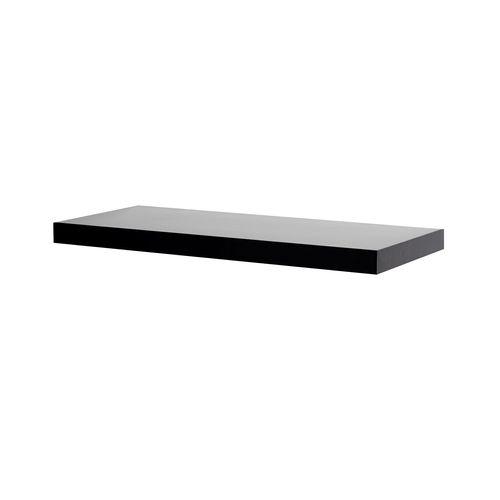 Flexi Storage Decorative Shelving 600 x 38 x 240mm Black Floating Shelf