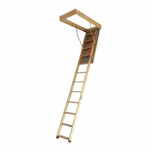 Gorilla 2.1-3.05m 150kg Timber Attic Ladder