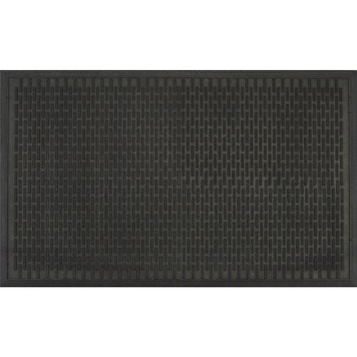 Bayliss 90 x 150cm Black Ridge Scraper Outdoor Mat