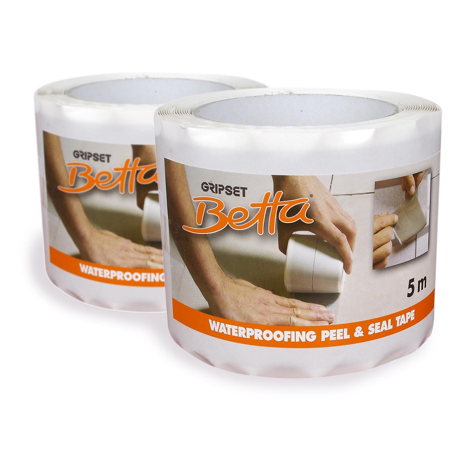 Waterproofing Detailing Peel and Seal Tape 5m Gripset Betta