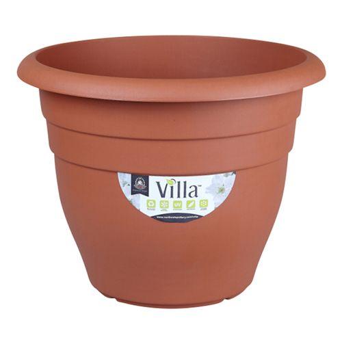 Northcote Pottery 600mm Terracotta Villa Plastic Pot