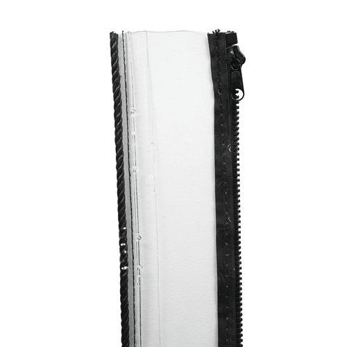 Bistro Blinds 10cm Width Extension Clear Outdoor Blind - To Suit 240cm Drop