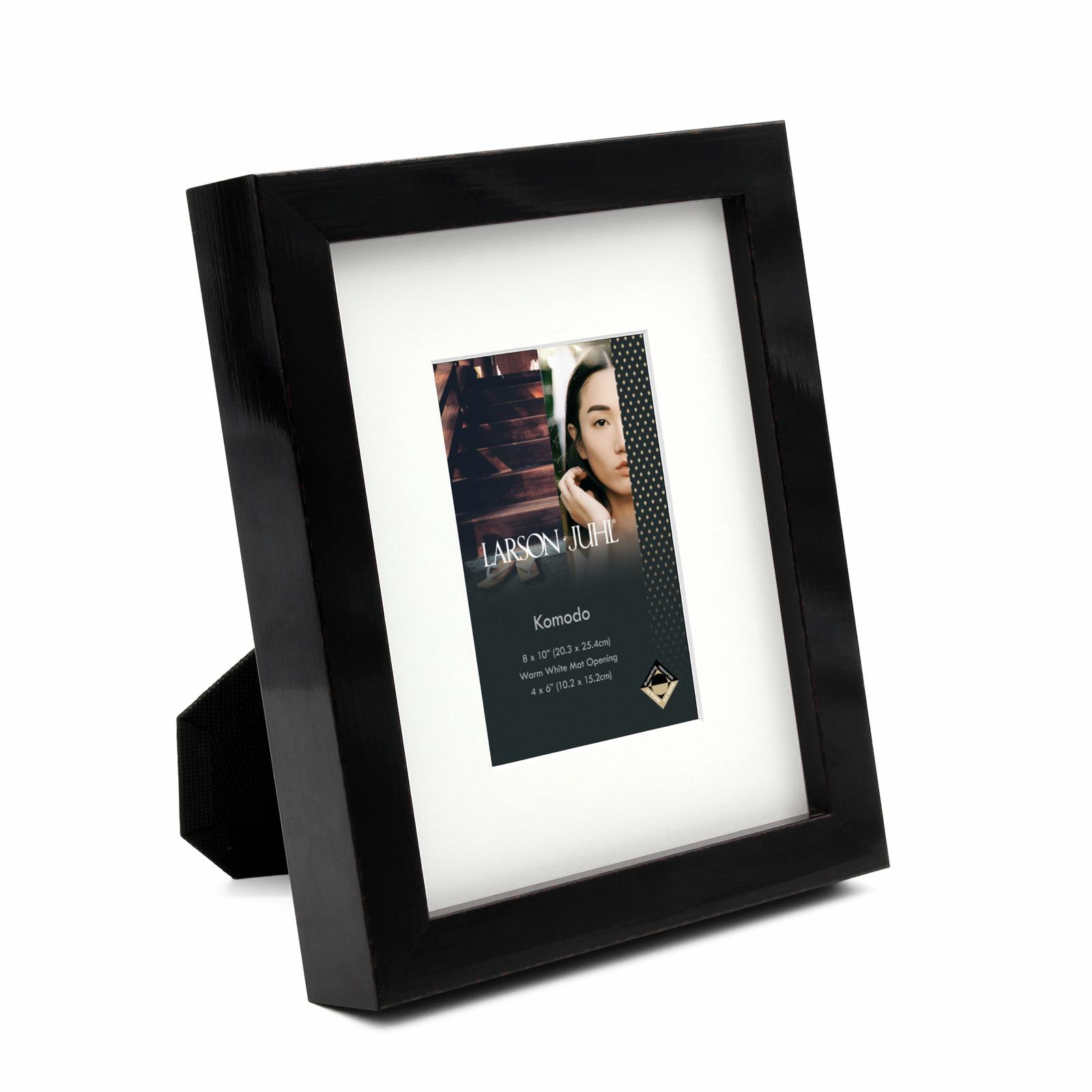Komodo 8 x 10inch/4 x 6inch Opening Black Photo Frame