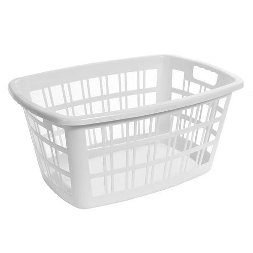 Ezy Storage 40L Rectangle Laundry Basket