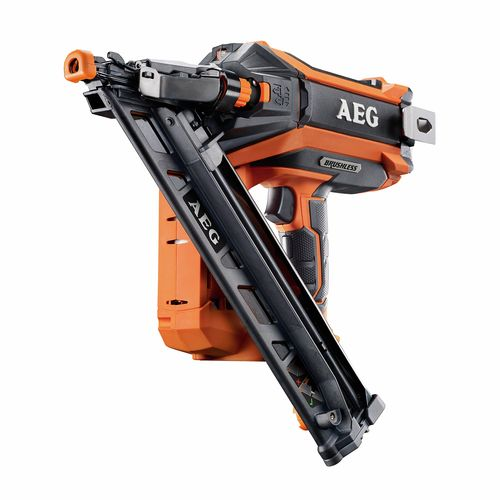 AEG 18V 15Ga Brushless Angled Finish Nailer - Skin Only
