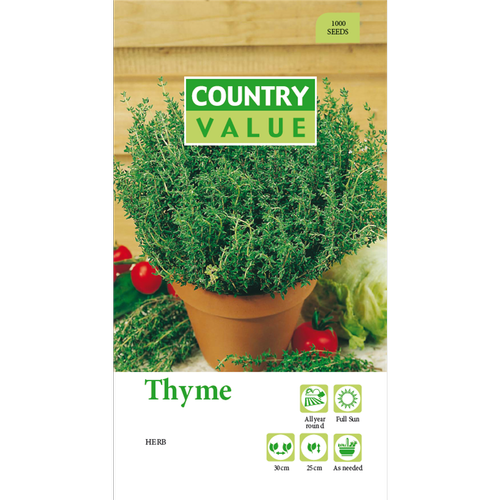 Country Value Thyme Seeds