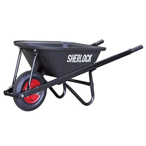 Sherlock 80L Home Use Poly Tray Wheelbarrow
