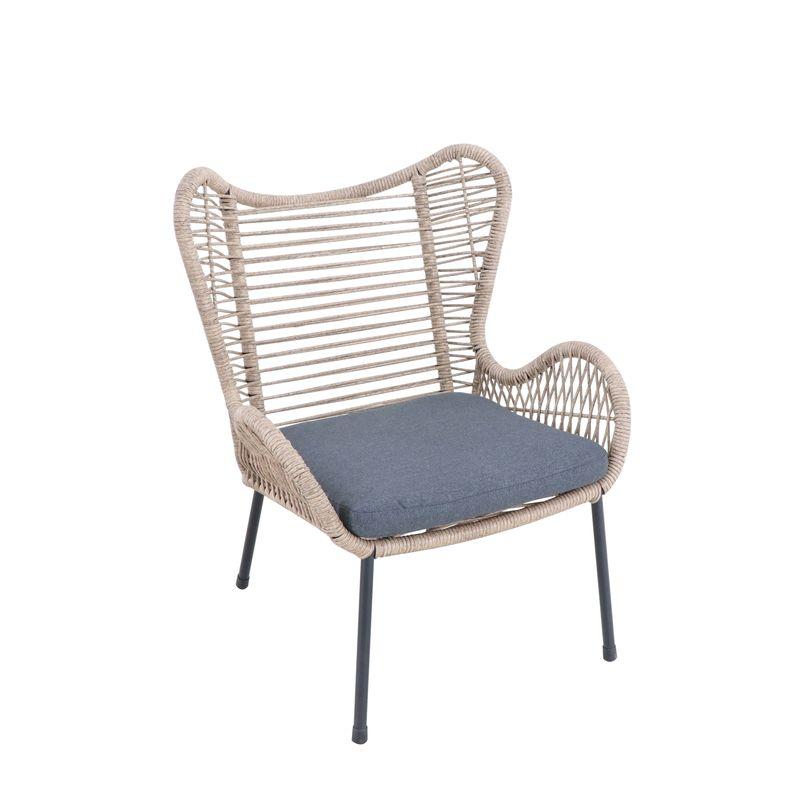Mimosa wicker butterfly chair