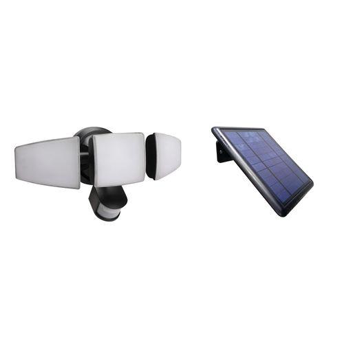 Solar Magic 1500lm 3 Head Solar Security Light