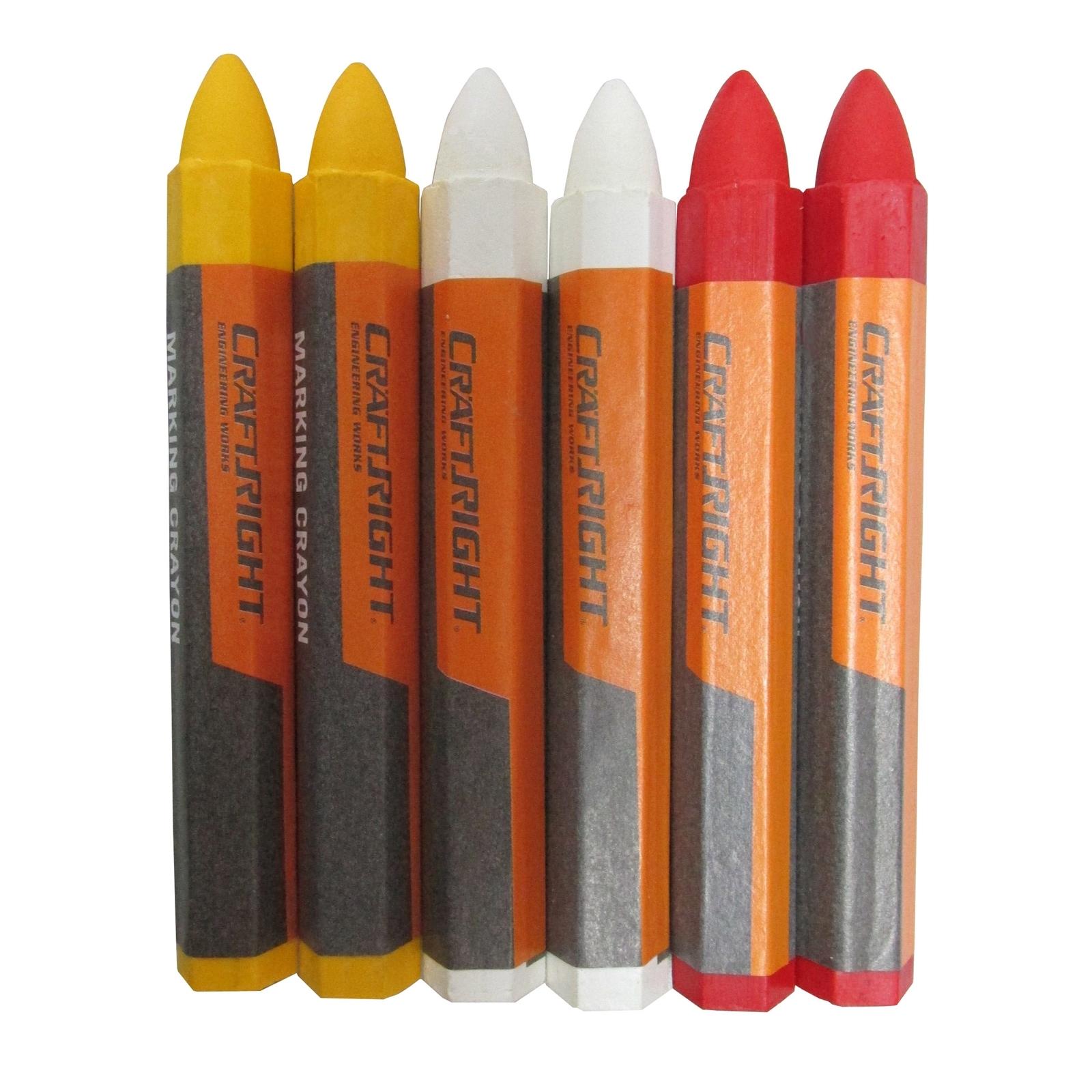 Craftright 6 Piece Builders Crayons