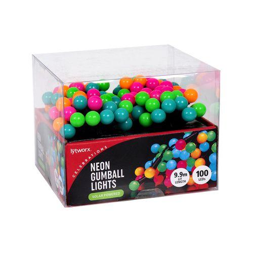 Lytworx Neon Gumball Solar LED Lights