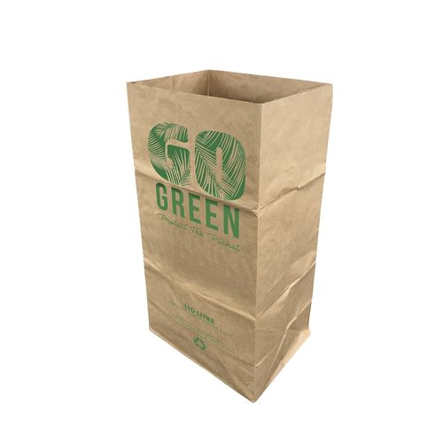 Pillar Products 110L Compostable Paper Garden Bag - 5 Pack