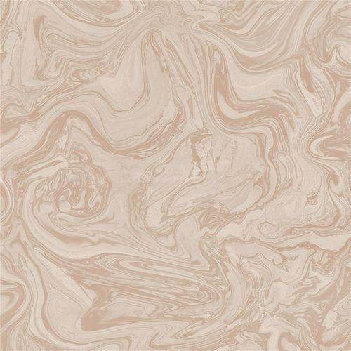 Graham & Brown Pebbled Rose Gold Marbled Wallpaper - Pebbled ½m