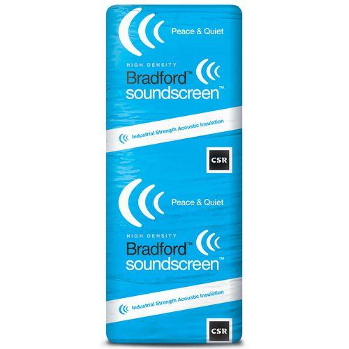 Bradford R2.5 1160 x 580 x 88mm 4.7m2 SoundScreen Insulation - 7 Pack