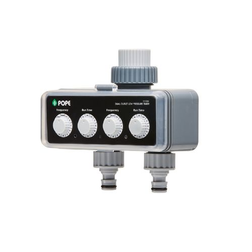 Pope Double Low Pressure Tap Timer