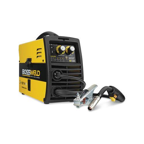 Bossweld 100A M100 Gasless MIG Inverter Welder