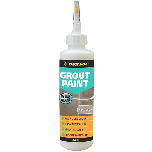Dunlop 250ml Grout Paint - Slate Grey