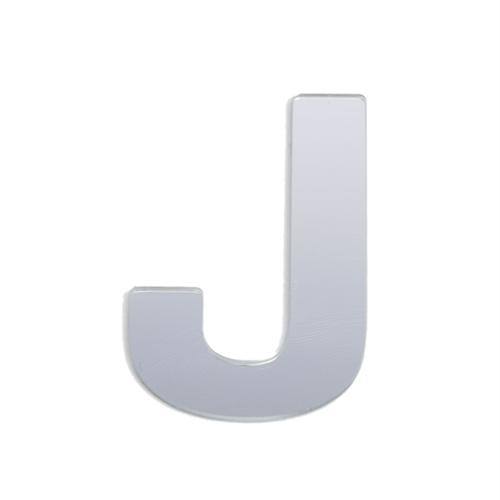 Sandleford 25mm J Silver Self Adhesive Letter