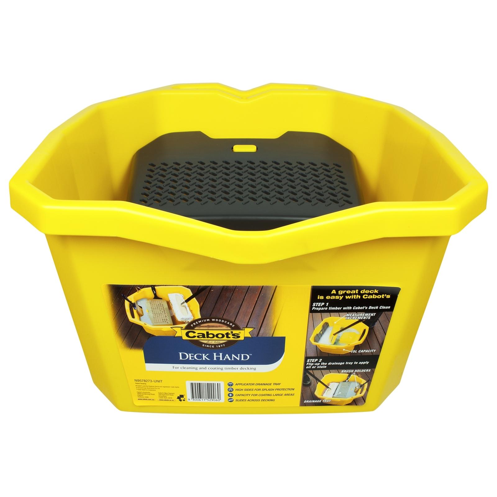 Cabot's 15L Deck Hand Bucket