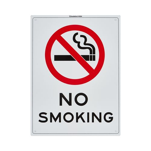 Sandleford 300 x 225mm No Smoking Plastic Sign