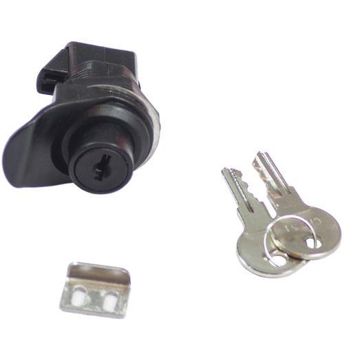 Goliath Black ABS Plastic Push Button Locking Latch