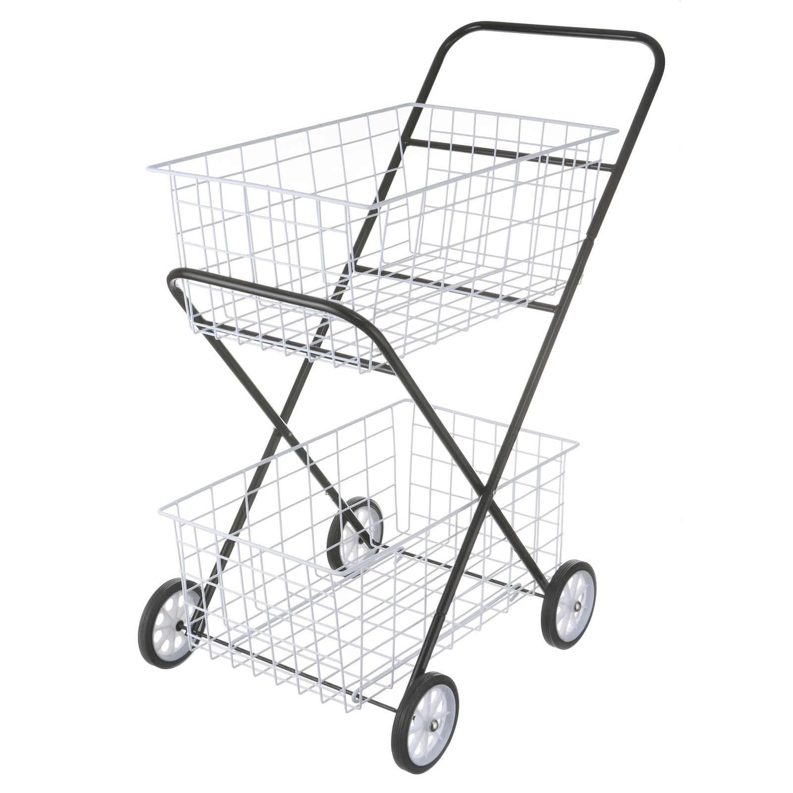 LTW 2 Basket Trolley Laundry