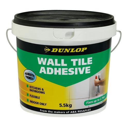 Dunlop 5.5kg Wall Tile Adhesive
