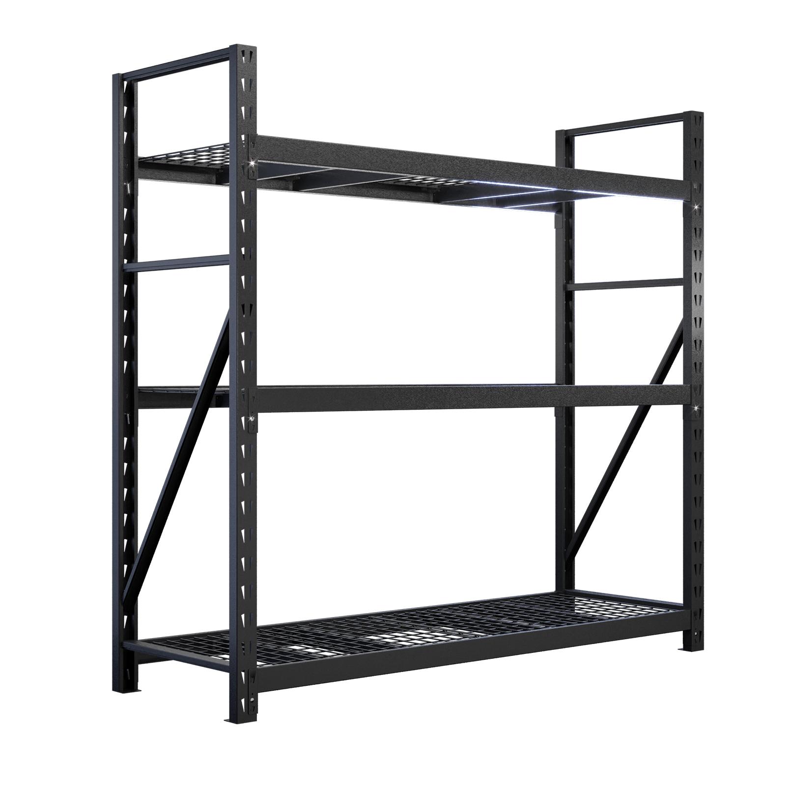 Rack It 20kg 20 x 20 x 20mm Black 20 Shelf Starter Kit ...