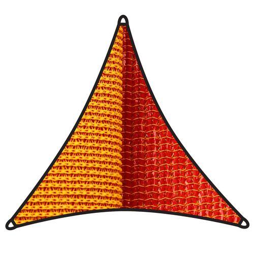 Coolaroo 5m Sunburst Triangle Dual Shade Sail