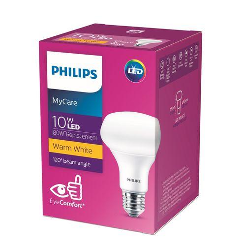 Philips 10W R80  E27 2700k LED Reflector Light