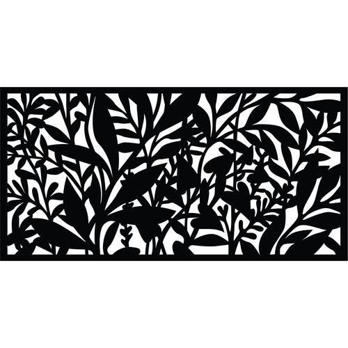 Matrix 1160 x 580mm Charcoal Hinterland Wall Art