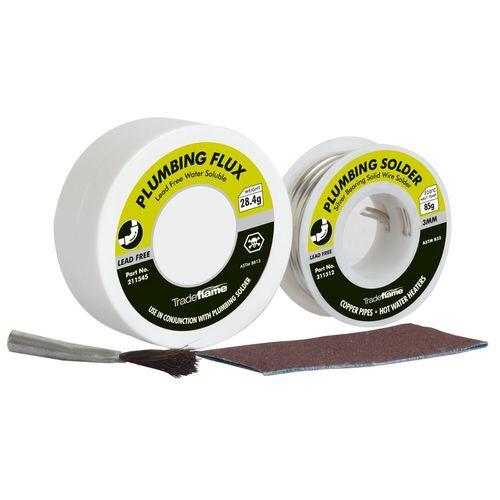 Tradeflame Solder And Flux Kit